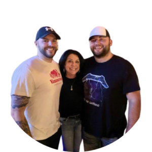 Sheree and her two sons